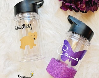 Personalized Kids Water Bottle//Personalized//Kids Cups//Water Bottle//Kids//Gift//Birthday//Kids Birthday
