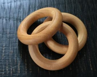 Organic Wooden teething rings