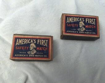Antique Matchboxes