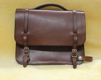 Bicycle bag leather