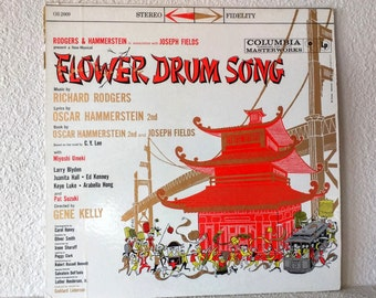 "5/10/15 Dollar Sale: Vintage Record, ""Flower Drum Song"" by Rodgers & Hammerstein, Original Broadway Cast Recording, Columbia Records, 1961"