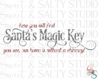 here you will find santa's magic key digital file