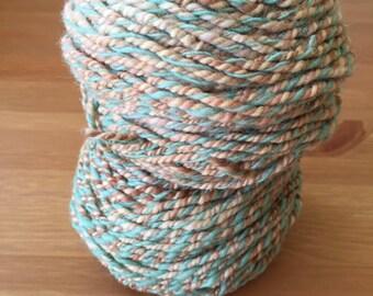 Handspun Yarn worsted (approx. 187g)