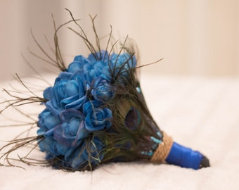 "Bouquet for the bride, ""Blue Rose"""