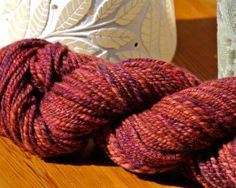 African Sunset Handspun Merino Superwash Yarn