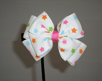 Double loop boutique bow