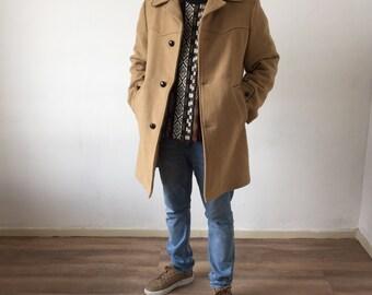 Vintage Camel Coat Size M