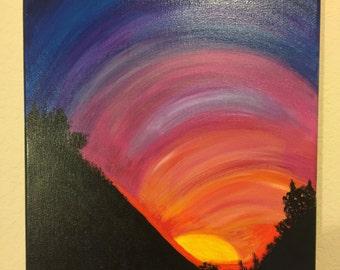 Ortega Hwy Sunset