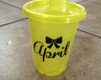 100% CUSTOMIZABLE Sippy Cup!