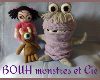 TUTORIAL of Boo monster and co.