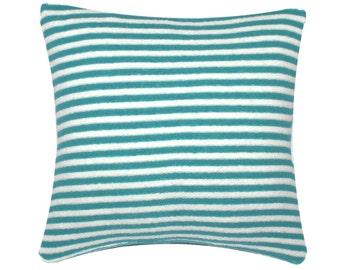 Outdoor Stripe Pillow Slipcovers 22 x 22, in Aruba/White, Gingko/White, Tangerine/White, Nautical Blue/White, Orchid/White