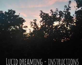 PDF Lucid Dreaming // Sleep spell // Dream spell // Magic spell // Magic Dreaming //Remembering dreams // Casting a circle // Dream bag // h