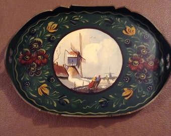 Tray hand painted Holland