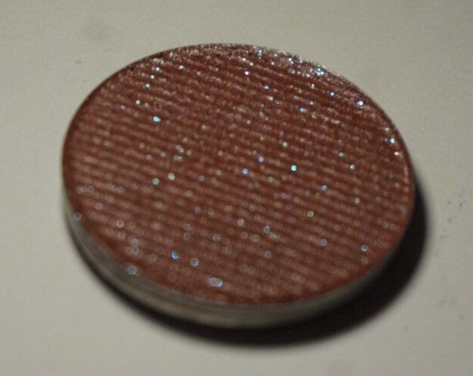 Tea in the Afternoon eyeshadow - Soft mauvey-brown with subtle teal micro glitter