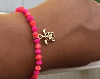 Seaturtle Charm Bracelet