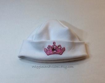 Princess hat, newborn, preemie, micro preemie, reborn