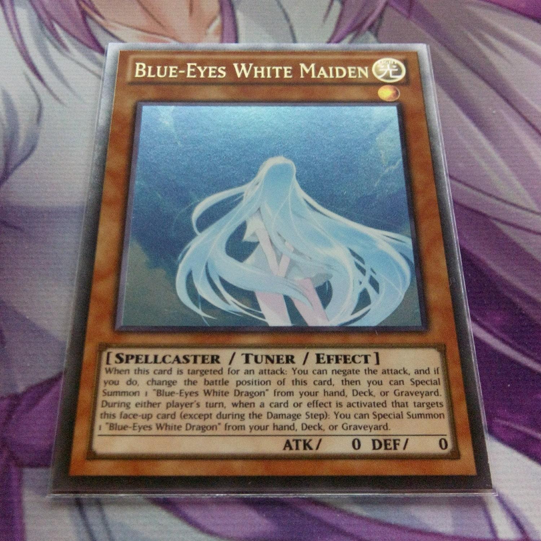 blue eyes white maiden ultra rare orica proxy fanmade