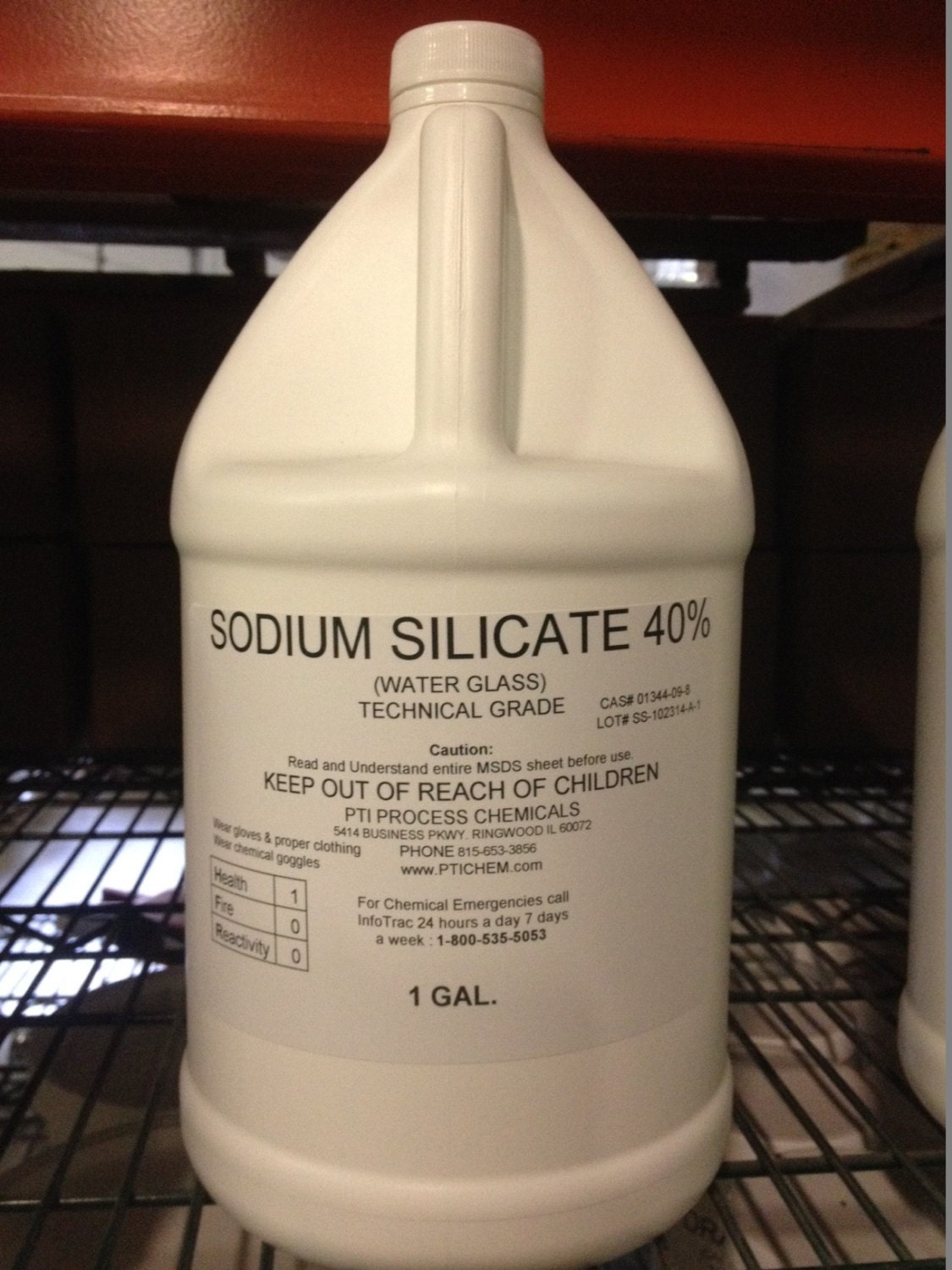 Sodium Silicate 40 Water Glass 1 Gallon