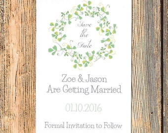 Save the Date, Rustic Save the Date, Woodland Save the Date, Wedding Save the Date, Save the Date Wedding, Wedding Date Card, Wedding Date