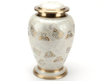 Cremation Ashes Urn Burford Pearl