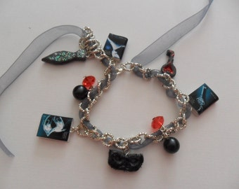 "Bracelet ""50 shades of gray saga"""