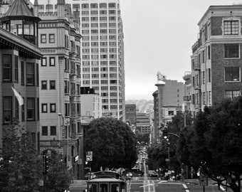 Fine art print, San Fransisco, Black and white photography, America, USA, Street photography, Art, City, Urban photography, Print, Pictures