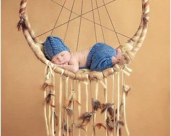 dream catcher hammock newborn photography prop