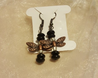 Dragonfly  Dangle Earrings, The Absolute Cutest I have ever seen!!