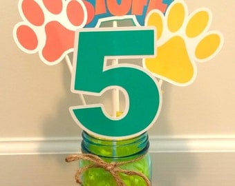 Mutt & Stuff Puppy Dog Themed Centerpiece
