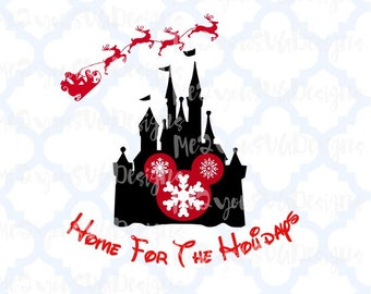 Home For The Holidays SVG,EPS,PNG,Studio