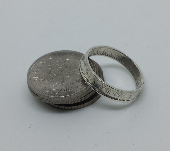 sixpence ring by mintiqueofcambridge on etsy