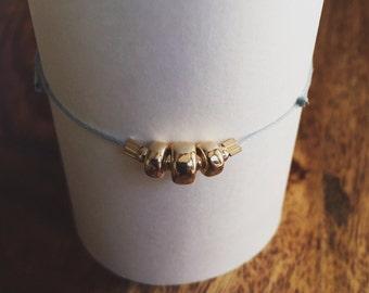 I 5 I Gold-filled Beaded Bracelet