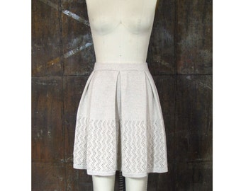 Ursula Skirt- Machine Knit Lace Skirt