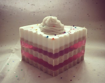 Handmade Country Bumpkin Cake Soap
