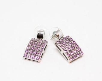 Steel earrings