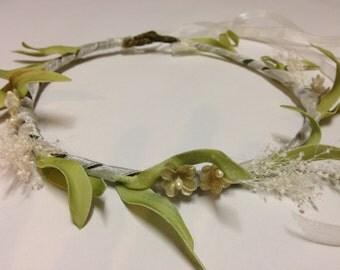 Golden Rod Flower Crown