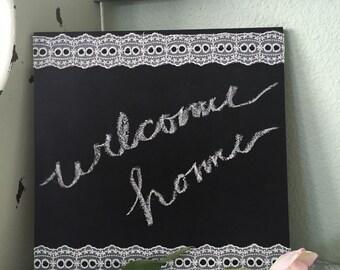 Handmade Vintage Style Chalkboard