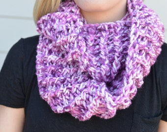 Shades of Lavender Infinity Scarf