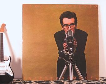 Elvis Costello - This Year's Model, vintage LP
