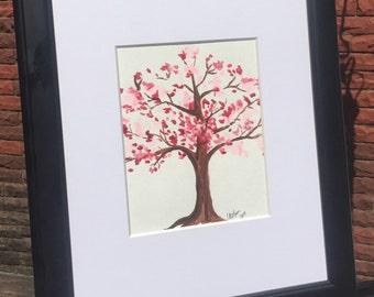 Acrylic Pink Tree