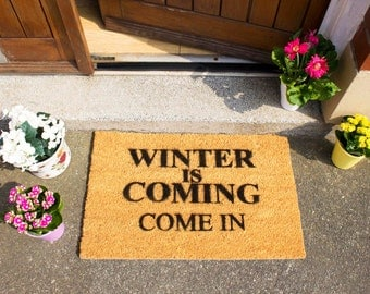 Winter is coming doormat - 60x40cm - Game of Thrones quote