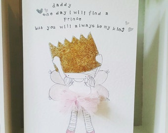 Fairy father's day card