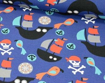 Pirate jersey fabric