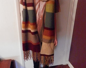 Doctor Who scarf Tom Baker season 12