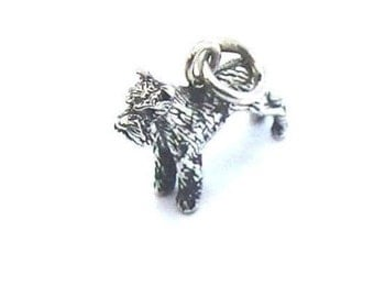 Dog Pendent .925 Sterling Silver