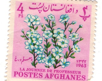 postes afghanes 1963 4 Ps