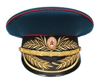 Soviet Armored Forces General Parade Visor hat