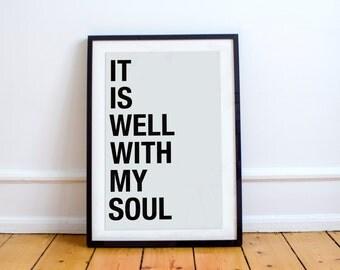 It Is Well Print