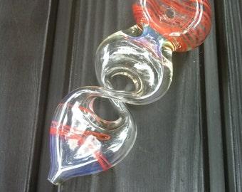 Glass infinite peace pipe