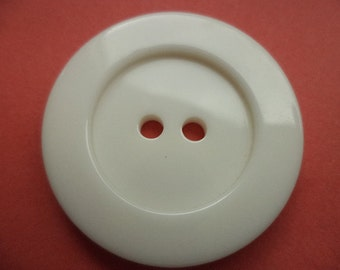 5 large BUTTONS white 26mm 31mm (5135 5454) jacket buttons coat buttons